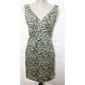 Robbie Bee | Women's Animal Print Dress Size 10
